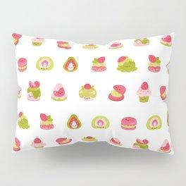 Strawberry Matcha Pillow Sham