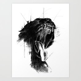 The Untamed Art Print