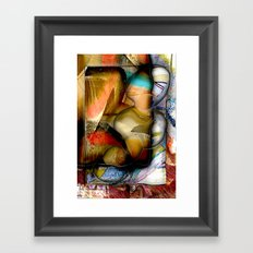 Paranormality Framed Art Print