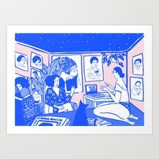 Mama's Gun Art Print