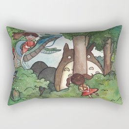 Studio Ghibli Crossover Rectangular Pillow