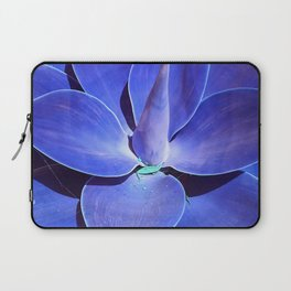 Turquoise and Teal Exotic Succulent Laptop Sleeve