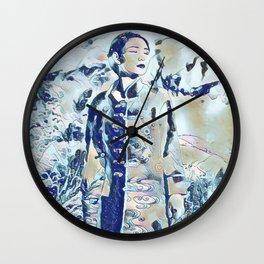 Pseudonymph Wall Clock