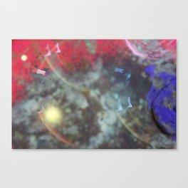sci fi tye-die Canvas Print