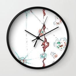permeation Wall Clock