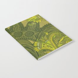 Green Lace of India  Notebook