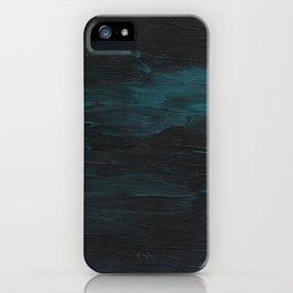 Dark Teal Sea iPhone Case