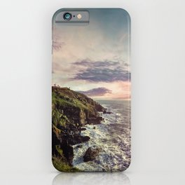 The Lizard Point Lighthouse at Sunrise iPhone Case