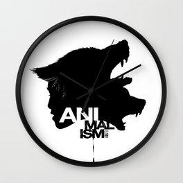 Wolf Kind Wall Clock