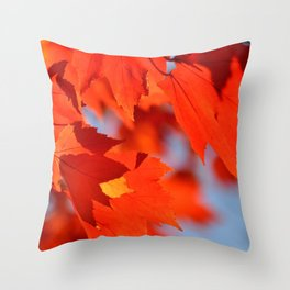FLOATING BEAUTY :) Throw Pillow