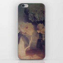 Gardenia and Rose Still Life iPhone Skin