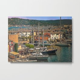 French Venice Metal Print