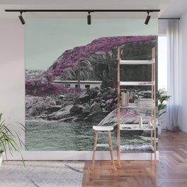 Pink Norway - The House Wall Mural