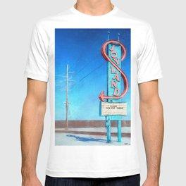 Vintage Neon Sign - Joyland T-shirt
