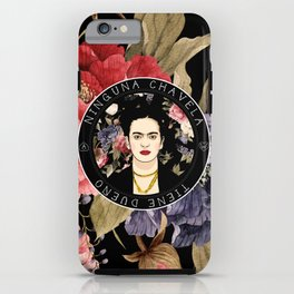 Ninguna Chavela Tiene Dueño iPhone Case