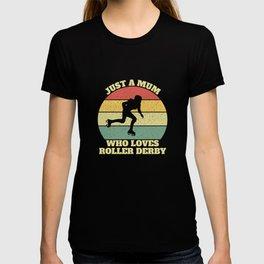 Roller Derby Mum T-shirt
