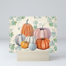 Pumpkin Patch Mini Art Print