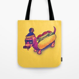 Chicago Dog Tote Bag
