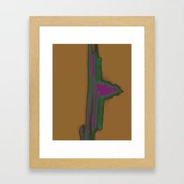 Dancing Light #4 2011 Framed Art Print
