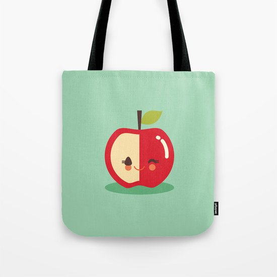 Lil' Apple Tote Bag