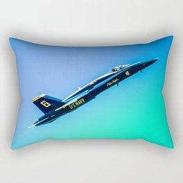Blue Angles Rise Rectangular Pillow