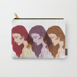 Glam Red Rock Carry-All Pouch