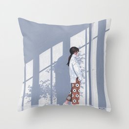 Someday, Someplace Throw Pillow