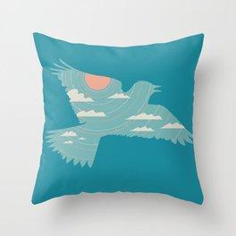 Skylark Throw Pillow