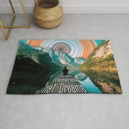Die with memories not dreams (wilderness) Rug