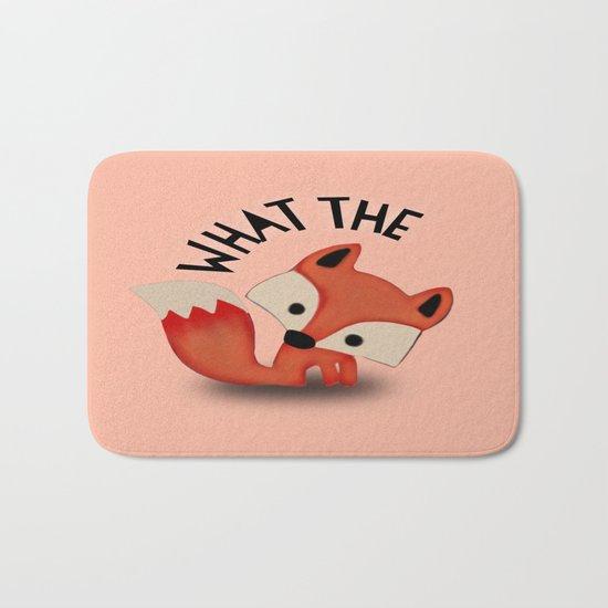 What the FOX?.... Bath Mat
