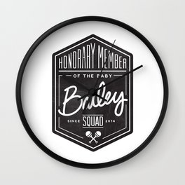 Baby Bailey Squad Wall Clock