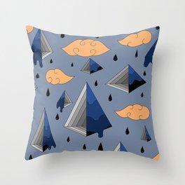 Blue Py Throw Pillow