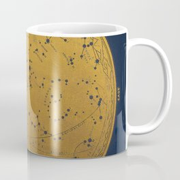 Antique Map of the Night Sky Coffee Mug