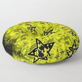 Toxic Stars Pattern Floor Pillow