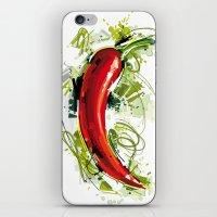 vietnam iPhone & iPod Skins featuring Vietnam Chilli by Vietnam T-shirt Project