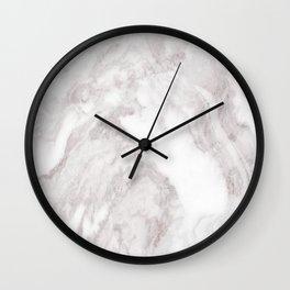 White Marble Mountain 013 Wall Clock