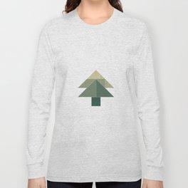 Tangram / Christmas tree Long Sleeve T-shirt