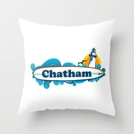 Chatham Ligthhouse  Throw Pillow