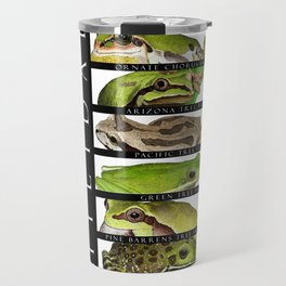Tree frogs of North America - Hylidae Travel Mug