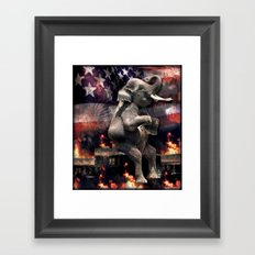 Let It All Burn Framed Art Print