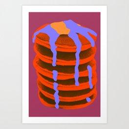 Melted Supper Art Print