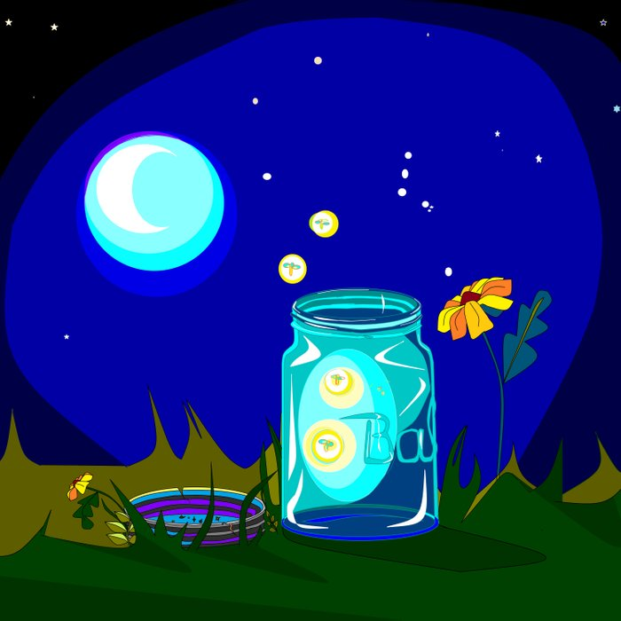 About | Fireflies in Mason Jars |Fireflies In A Jar Cover Photo