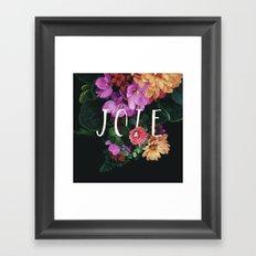 Joie Framed Art Print