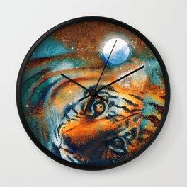 El descanso del tigre Wall Clock