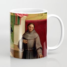 "Giorgione ""Castelfranco Madonna (Madonna and Child between St. Francis and St. Nicasius)"" Coffee Mug"