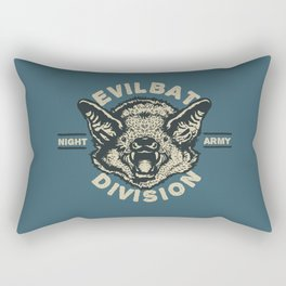 Evil Bat Division Rectangular Pillow