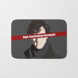 Sherlock: High-Functioning Sociopath Bath Mat