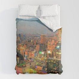 Shibuya, Tokyo, Japan Comforters