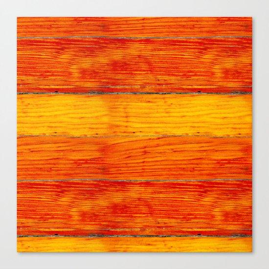 ORange wood Canvas Print