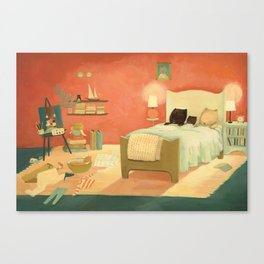Goodnight Littlest Family by Emily Winfield Martin Canvas Print